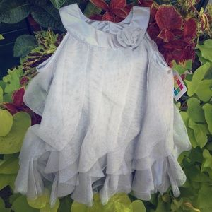 Grey baby dress